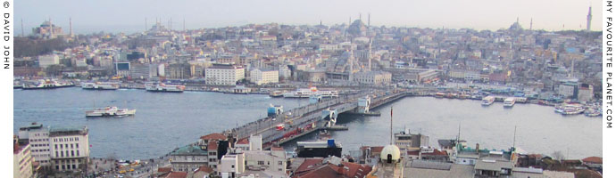 Istanbul skyline at The Cheshire Cat Blog