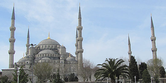Sultanahmet Cami - the Blue Mosque, Istanbul