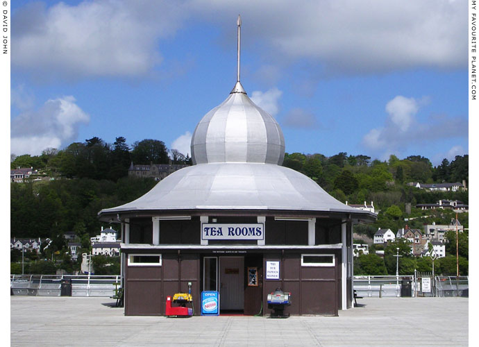 The Tea Rooms on Bangor Pier, North Wales at The Cheshire Cat Blog