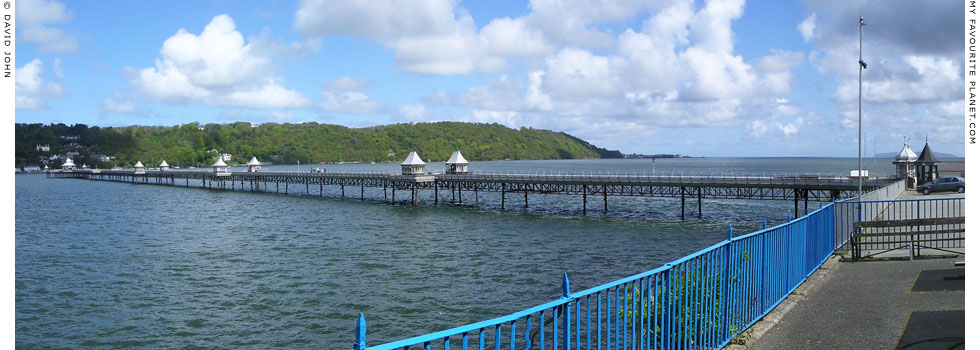 Bangor Pier panorama, North Wales at The Cheshire Cat Blog