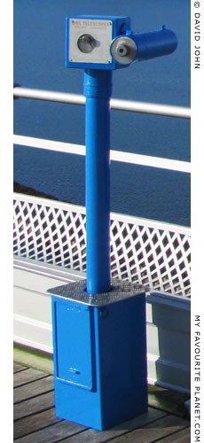 An Owl Telescope on Bangor Pier, North Wales at The Cheshire Cat Blog