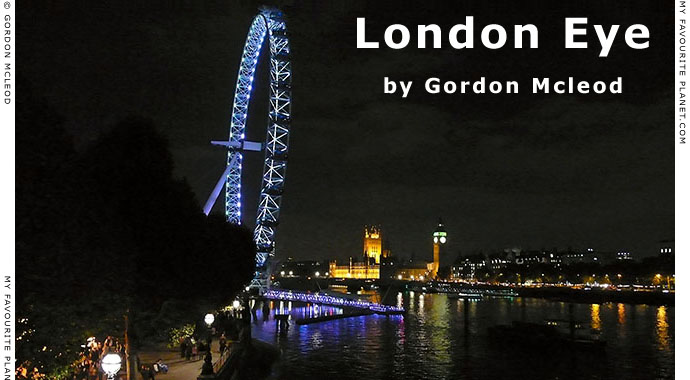 The London Eye by Gordon Mcleod at the Cheshire Cat Blog