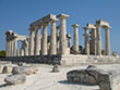 The Temple of Aphaea, Aegina, Greece at The Cheshire Cat Blog