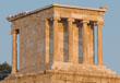The Temple of Athena Nike on the Acropolis, Athens, Greece, designed by the architect Kallikrates Greece, 5th cntury BC, at The Cheshire Cat Blog