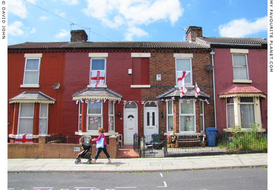 Terraced houses, The Dingle, Liverpool at The Cheshire Cat Blog
