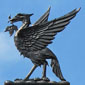 a Liver bird at The Cheshire Cat Blog