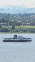 Ferry MV Snowdrop on the River Mersey, Liverpool at The Cheshire Cat Blog