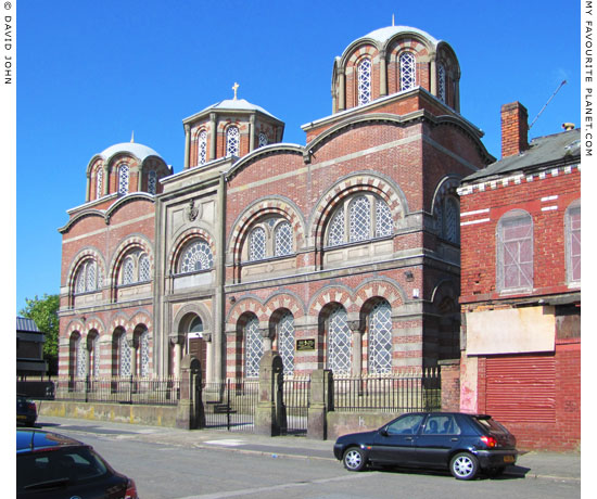 Saint Nicholas Greek Orthodox Church, Berkley Street, Liverpool at The Cheshire Cat Blog