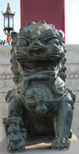 Chinese dragon sculpture, at the gate to Chinatown, Liverpool at The Cheshire Cat Blog