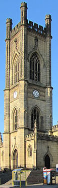 Saint Luke's Church, Bold Street, Liverpool at The Cheshire Cat Blog