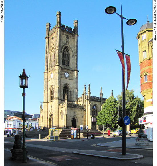 Saint Luke's Church and Gardens, Bold Street, Liverpool at The Cheshire Cat Blog