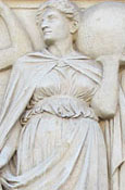 Relief depicting Justice by Stirling Lee, Saint George's Hall, Liverpool at The Cheshire Cat Blog