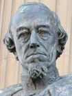 Statue of Benjamin Disraeli MP by Charles Bell Birch, Liverpool at My Favourite Planet