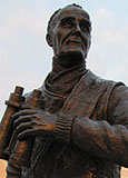 Statue of World War Two Captain Johnnie Walker, Pier Head, Liverpool at The Cheshire Cat Blog