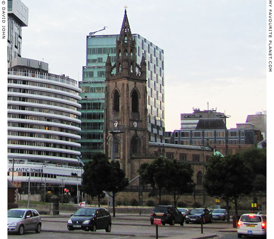 The Anglican Church of Our Lady and Saint Nicholas, Pier Head, Liverpool at The Cheshire Cat Blog
