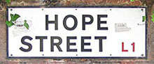 Hope Street, Liverpool at The Cheshire Cat Blog
