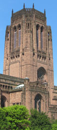 Liverpool Anglican Cathedral at The Cheshire Cat Blog