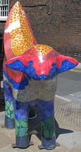 Superlambanana statue by Taro Chiezo, Hope Street, Liverpool at The Cheshire Cat Blog