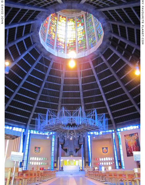 inside the Liverpool Metropolitan Cathedral at The Cheshire Cat Blog