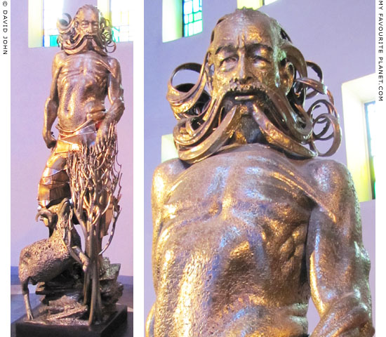 Statue of Abraham by Sean Rice in Liverpool Metropolitan Cathedral at The Cheshire Cat Blog