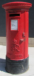 Postbox from the time of King George VI, Moss Street, Liverpool at The Cheshire Cat Blog