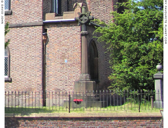 World War I memorial, Saint Mary's Parish Church, Edge Hill, Liverpool at The Cheshire Cat Blog