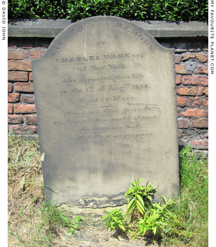 Mid 19th century gravestone, Saint Mary's Parish Church, Edge Hill, Liverpool at The Cheshire Cat Blog