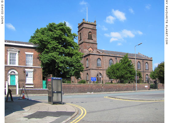 Saint Mary's Parish Church, Irvine Street, Edge Hill, Liverpool at The Cheshire Cat Blog
