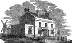The School for the Blind, Liverpool as it looked in 1812