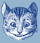 The Cheshire Cat Blog mail icon