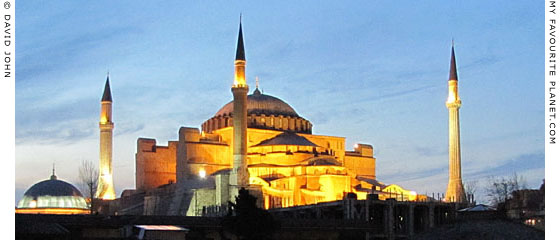 Hagia Sofia, Istanbul at The Cheshire Cat Blog