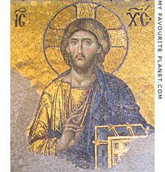 Mosaic of Christ the Pantocrator, Hagia Sofia, Istanbul at The Cheshire Cat Blog