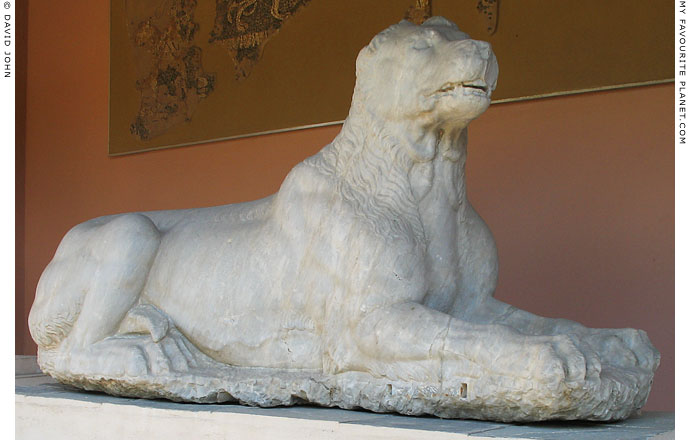 Ancient Greek hound, Kerameikos Archaeological Museum, Athens, Greece at The Cheshire Cat Blog