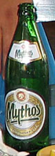 A bottle of Mythos beer at The Cheshire Cat Blog