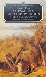 Journals of a landscape painter in Greece and Albania by Edward Lear at The Cheshire Cat Blog