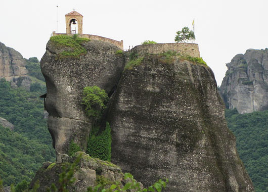 Meteora, Greece at The Cheshire Cat Blog