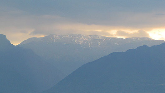 Clouds over the Pindos mountains, Greece at The Cheshire Cat Blog