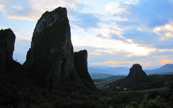 Agion Pnevma, Meteora, Greece at The Cheshire Cat Blog