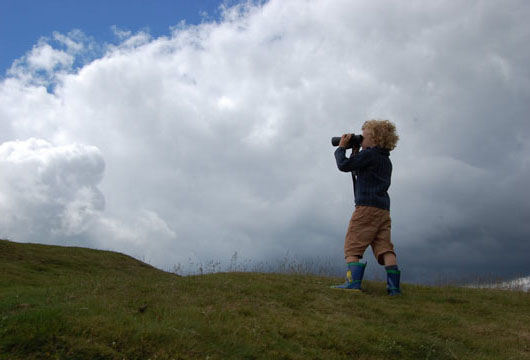 Noah searches for summer among the Welsh hills at The Cheshire Cat Blog