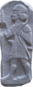 Late Hittite stele relief depicting a warrior, 9th-8th century BC at The Cheshire Cat Blog