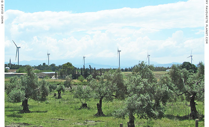 The Söke-Çatalbuk wind farm outside Söke, Aydin Province, Turkey at The Cheshire Cat Blog