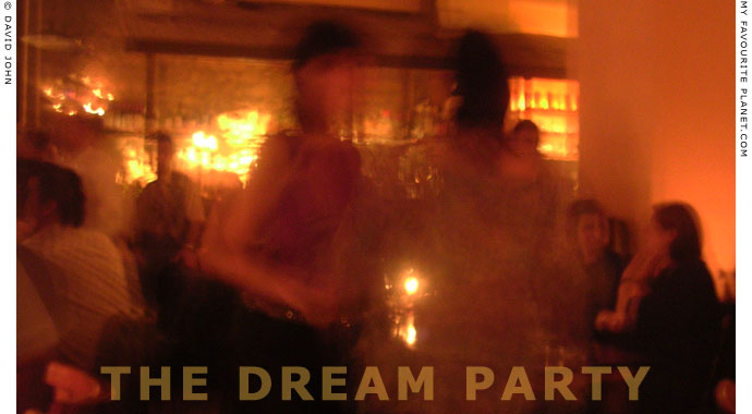 The dream party at The Cheshire Cat Blog