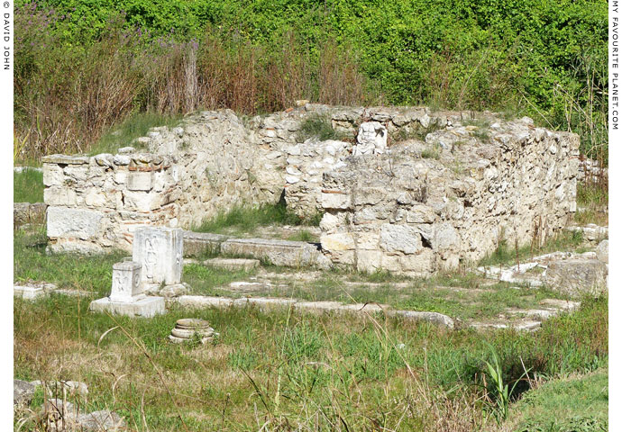 The temple of Zeus Hypsistos, Dion Archaeological Park, Macedonia, Greece at The Cheshire Cat Blog