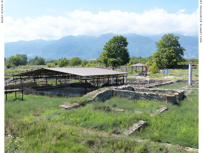 The Villa of Dionysos, Dion, Macedonia at The Cheshire Cat Blog