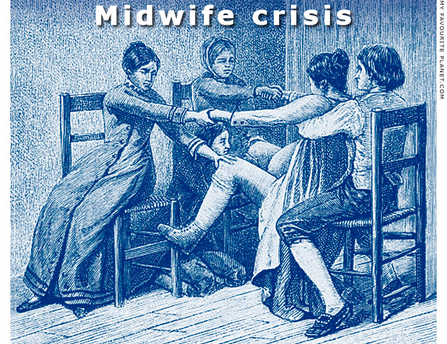 Midwife crisis at the Mysterious Edwin Drood's Column
