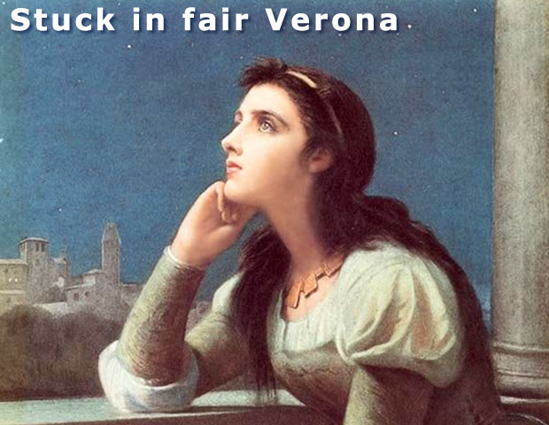 Stuck in fair Verona at the Mysterious Edwin Drood's Column