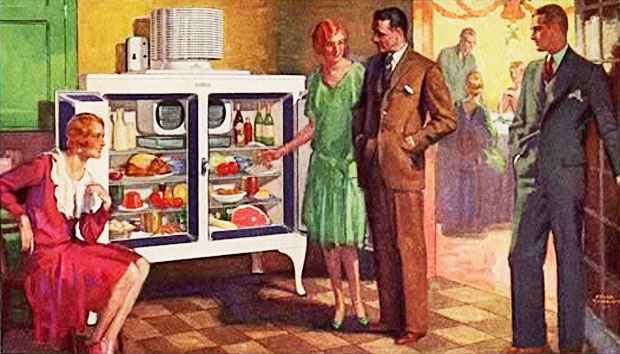 Happiness is a full fridge at the Mysterious Edwin Drood's Column