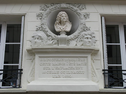 House of playwright Moliere, Paris at My Favourite Planet