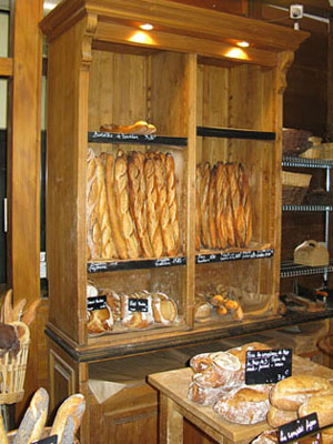 A bakery in Montmartre, Paris at My Favourite Planet