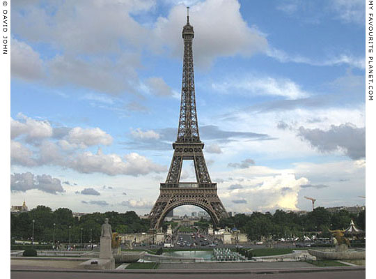 Eiffel Tower, Paris, France at My Favourite Planet